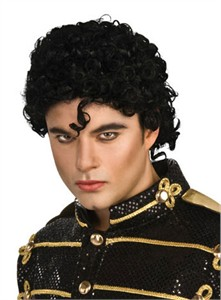 Adult Michael Jackson Curly Wig