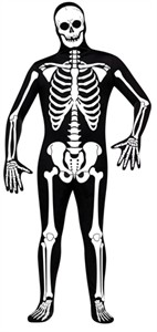 Adult Skeleton Skin Suit