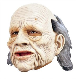 Adult Geezer Old Man Mask