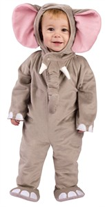Infant Cuddly Elephant Costume