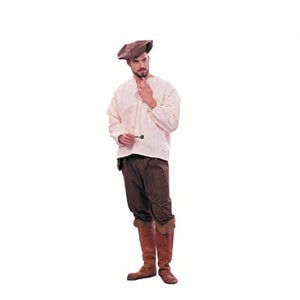 Adult Man's Renaissance Peasant Costume