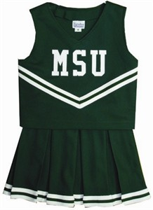 Michigan State University Child Cheerleader Uniform