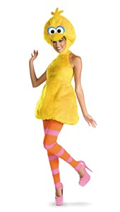 Woman's Big Bird Sesame Street Costume